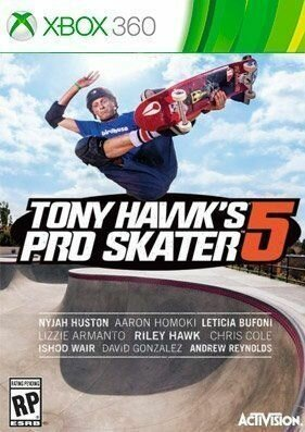 Tony Hawk's Pro Skater 5 [REGION FREE/GOD/ENG]
