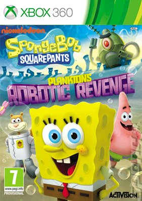������� ������� SpongeBob SquarePants: Plankton's Robotic Revenge [PAL/RUSSOUND] �� xbox 360 ��� �����������