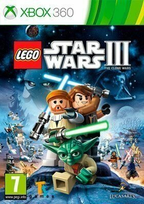 Скачать торрент LEGO Star Wars 3: The Clone Wars [REGION FREE/RUS] на xbox 360 без регистрации