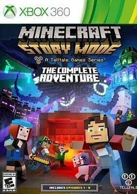 Скачать торрент Minecraft: Story Mode - The Complete Adventure на xbox 360 без регистрации